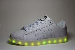 Adidas Superstar LED Sneakers White