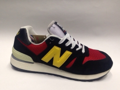 New Balance 670 Black/Red/Yellow