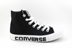 Converse Chuck Taylor All Star Mid Black/White