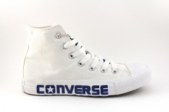 Converse Chuck Taylor All Star Mid White