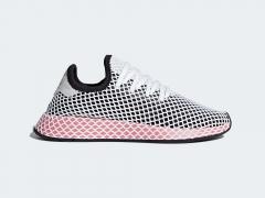 Adidas Deerupt Core Black/Chalk Pink