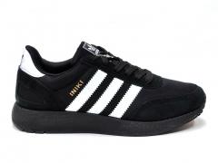 Adidas Iniki Runner Black/White/Black Sole