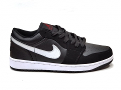 Air Jordan 1 Retro Low Black/White