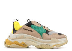 Balenciaga Triple S Beige/Green/Yellow
