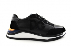 Dolce & Gabbana Sneaker Black/Blue/Yellow