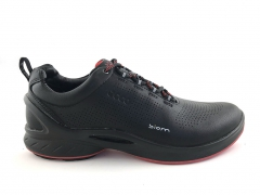 Ecco Biom FJUEL Black/Red Sole