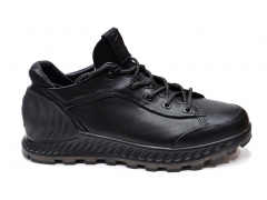 Ecco Exostrike Black Leather