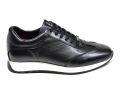 Ferazzi Sneakers Leather Black/White FRZ002