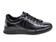 Ferazzi Sneakers Leather All Black FRZ003