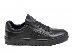 Ferazzi Sneakers Leather Black FRZ004