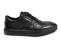 Ferazzi Sneakers Leather Black FRZ010