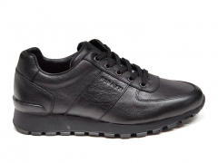 Ferazzi Sneakers Leather Black FRZ011