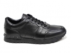 Ferazzi Sneakers Leather Black FRZ012