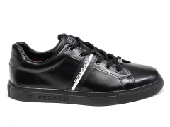 Ferazzi Low Sneakers Leather Black/White FRZ007