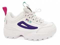 Fila Disruptor 2 White/Purple/Pink