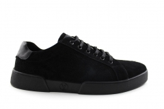 Louis Vuitton Low Sneaker Black Suede