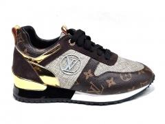 Louis Vuitton Run Away Brown/Gold
