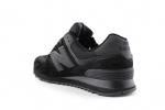 New Balance 574 Triple Black