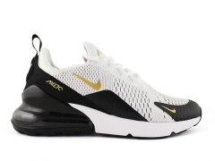 Nike Air Max 270 White/Black/Gold