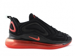 Nike Air Max 720 Black/Red Sole