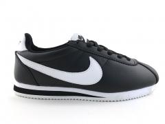 Nike Cortez Black/White Leather