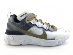Nike Epic React Element 87 x Undercover White/Cream/Blue