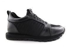Philipp Plein Sneakers Black Leather