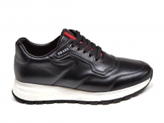 Prada Sneakers Leather Black/White