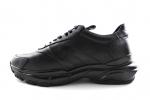 Valentino Garavani Bounce Low-Top Sneaker Black Leather