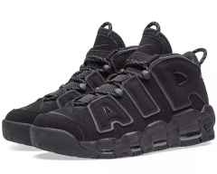 Nike Air More Uptempo Black/Suede