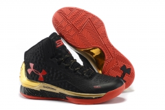 Under Armour Curry One Black/Gold/Red