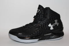 Under Armour Curry One Black/Silver