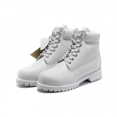 Timberland 6-inch All White (без меха)