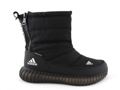 Дутики Adidas Boost Primaloft All Black (с мехом)
