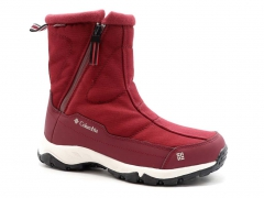 Дутики Columbia Waterproof Burgundy (с мехом)
