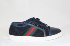 Gucci Ace Sneaker Navy