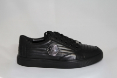 Philipp Plein Lo-Top Sneakers Smutty/Black
