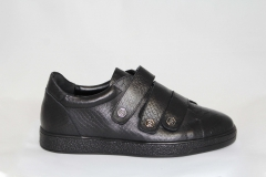 Philipp Plein Lo-Top Sneakers Velcro Black