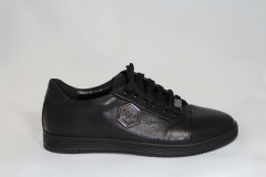 Philipp Plein Lo-Top Sneakers Ebon/Black
