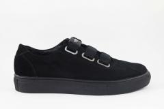 Armani Sneaker Black Suede