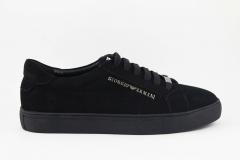 Giorgio Armani Sneaker Black Suede