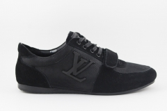 Louis Vuitton Sneaker Black/Suede
