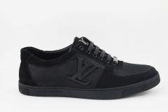 Louis Vuitton Sneaker Black/Textile