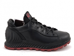 Ecco Biom Exostrike Leather Black/Red