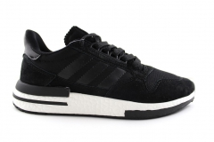 Adidas ZX 500 RM Black/White Sole