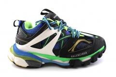 Balenciaga Track Trainers Black/Green