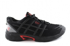 Armani EA7 C-Cube Prime Trainer Black/Red