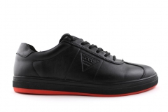 Ecco Soft Black/Red