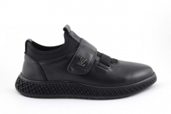 Louis Vuitton Sneaker Strap Black/Leather