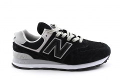 New Balance 574 Black/Grey/White